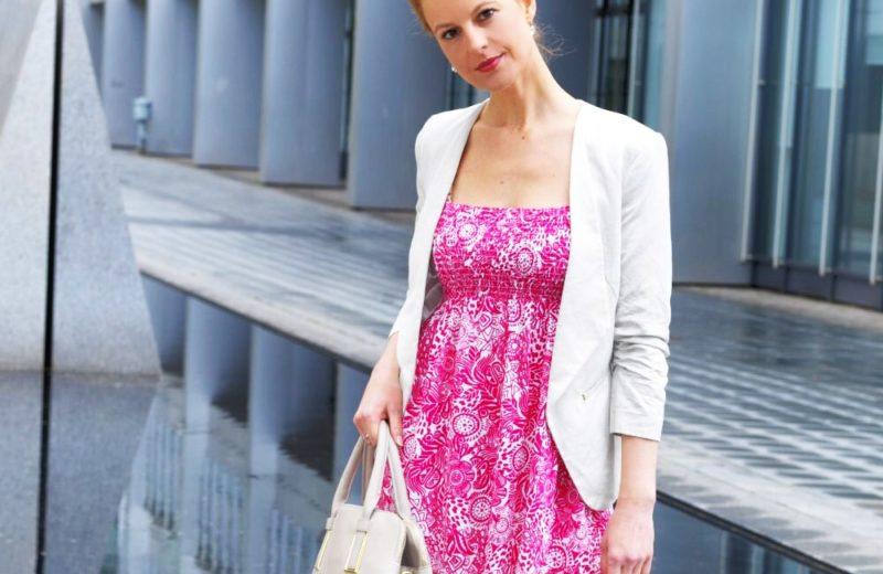 Kleid in Pink