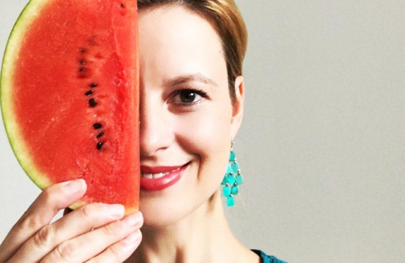 Die perfekte Schönheitskur mit Wassermelone