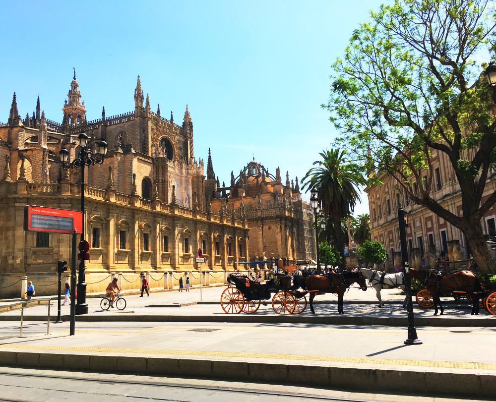 Gothische Kathedrale in Sevilla