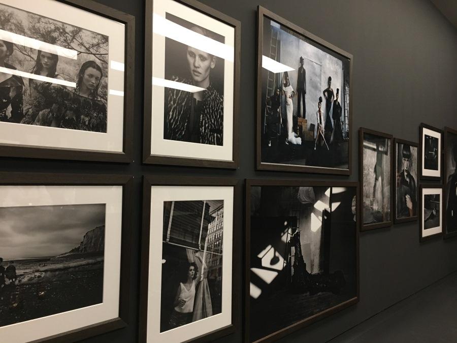 Einige der Fotografien von Peter Lindbergh
