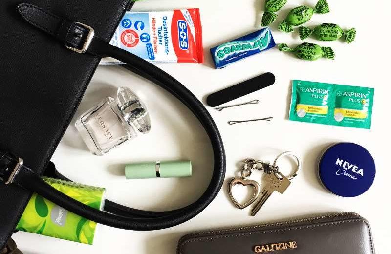 Der Inhalt meiner Tasche - was trage ich täglich bei mir?