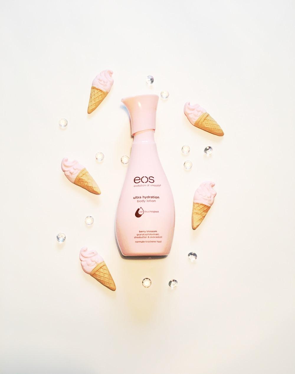 eos Bodylotion berry blossom