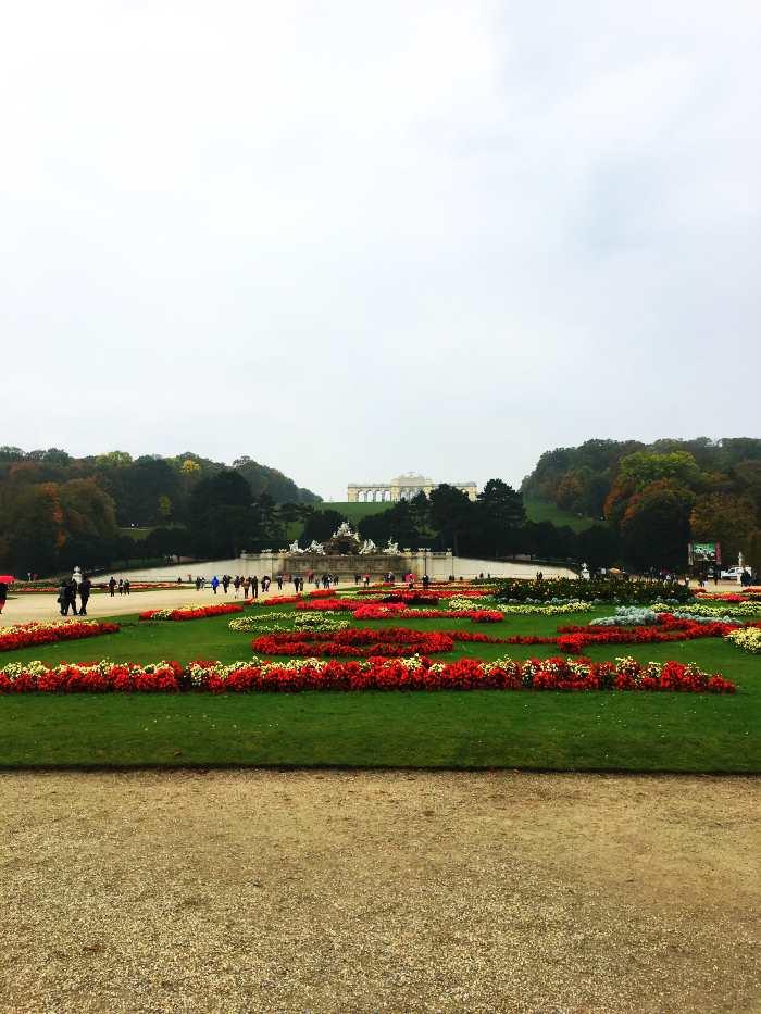 Schloßpark Schönbrunn Wien