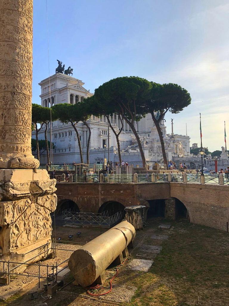 Forum Romanum und das Monumento Vittorio Emanuele II